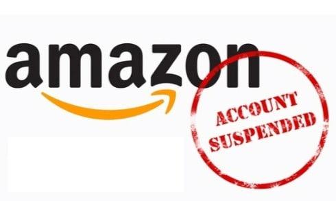 account suspended on amazon