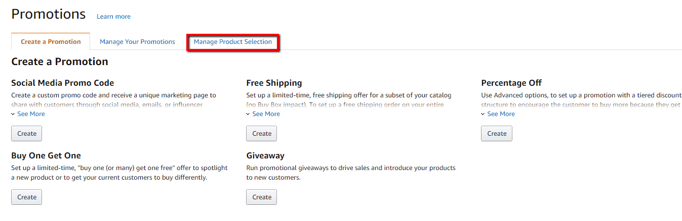 How to Create an Amazon Giveaway on Seller Central 1