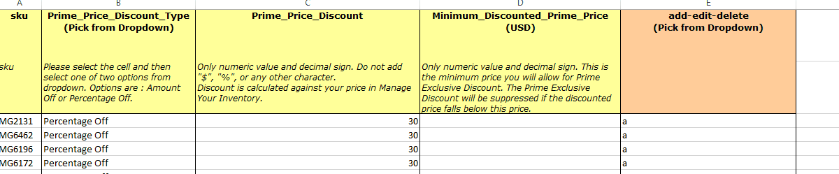prime member deals only