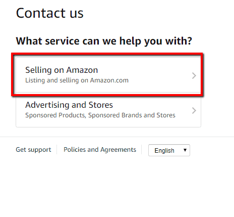 amazon google example seller central vendor ticket products inactive