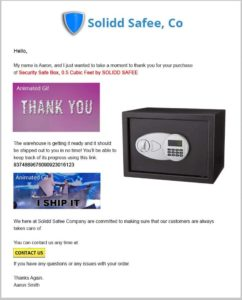 feedback whiz first email sample sequence thank you email asking for product reviews on amazon buyer feedback
