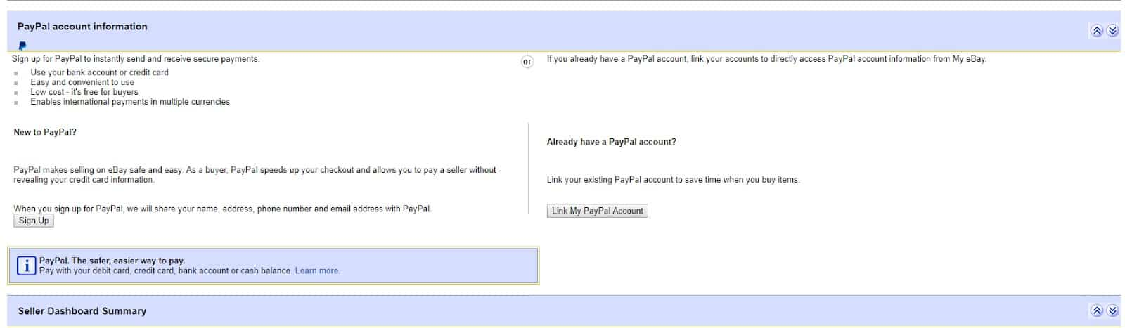 How To Connect Paypal To Ebay Account