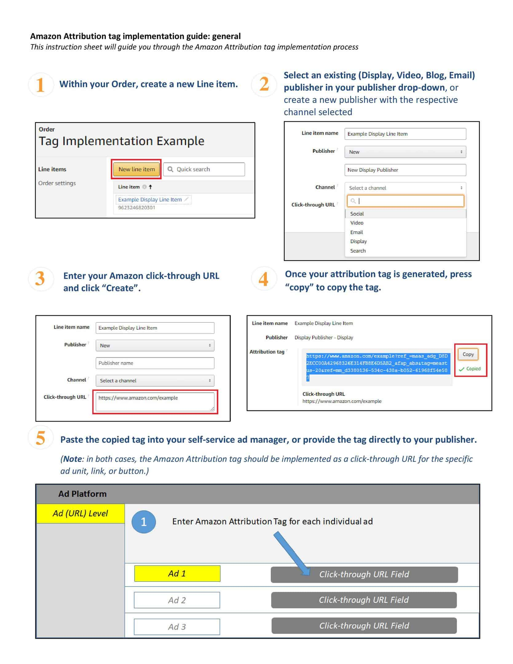 How to Track External Traffic into Amazon - Beta Advertising Attribution 12