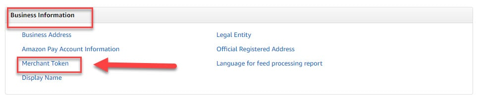 Amazon Merchant Token ID - Instructional Guide 21
