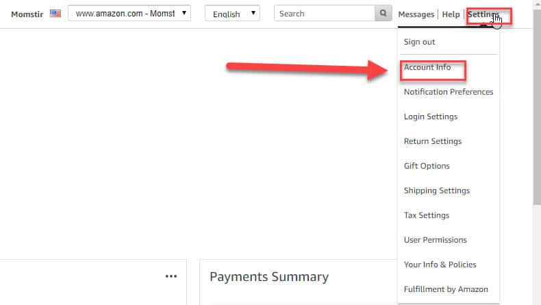 Amazon Merchant Token ID - Instructional Guide 20