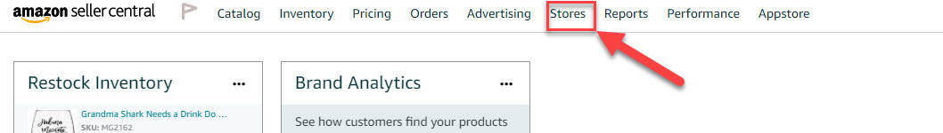 How to Access the Amazon Brand Store through Seller Central 4