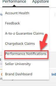 MyAmazonGuy Performance Notifications Amazon Seller Central