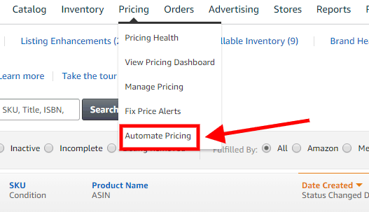 amazon automated pricing