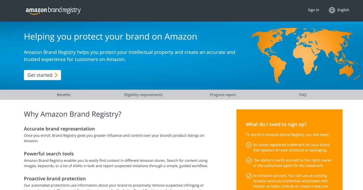 Amazon Brand Registry – The Ultimate Tool for Product Ranking in 2020