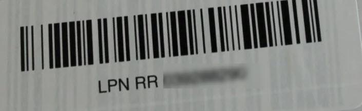 LPN sticker