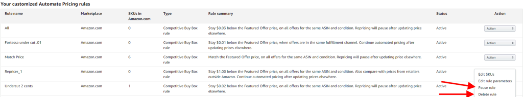 How to Setup Automated Pricing on Amazon Seller Central 8