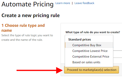 How to Setup Automated Pricing on Amazon Seller Central 3